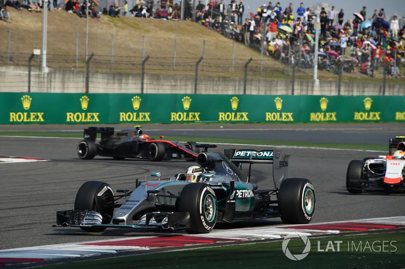 2015 Lewis Hamilton, Mercedes