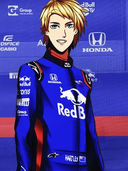 Version manga de Brendon Hartley, Scuderia Toro Rosso