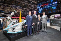 Alejandro Agag, CEO de Fórmula E, Jean Todt, presidente de la FIA