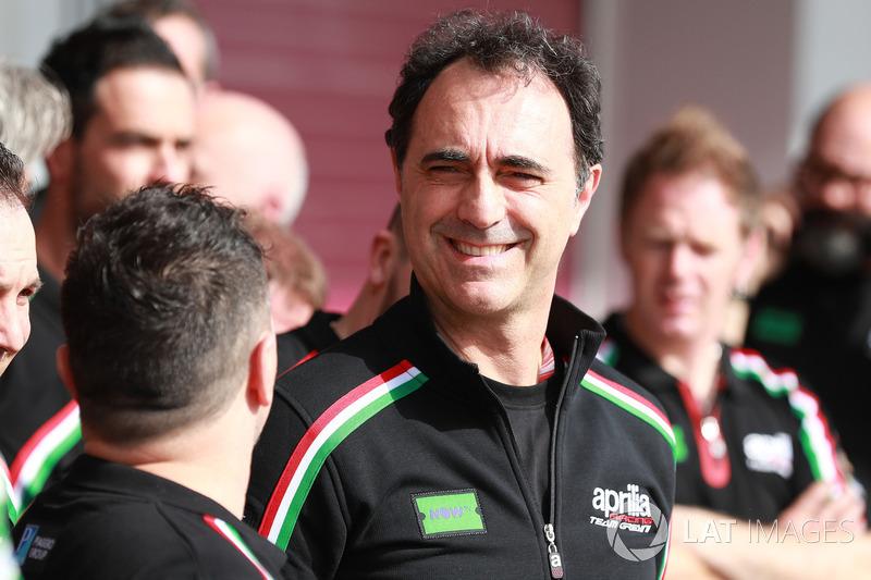 Romano Albesiano, Aprilia Racing Manager