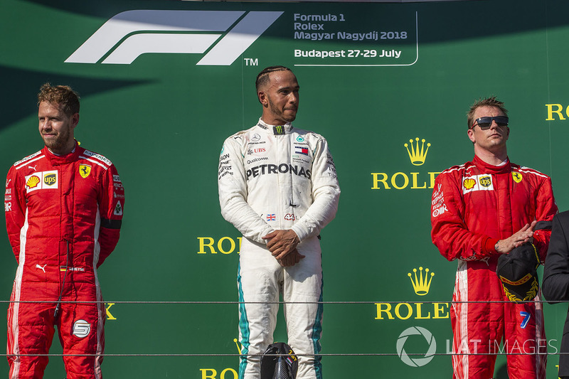 Lewis Hamilton győzelme a Magyar Nagydíjon - F1 2018