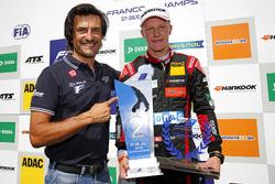 Stéphane Ortelli with Fabio Scherer, Motopark Dallara F317 - Volkswagen