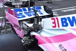 Force India VJM11 detalle del ala trasera