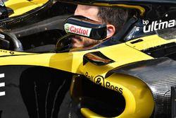 Renault Sport F1 Team R.S. 18 pontón