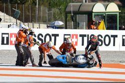 Tito Rabat, Estrella Galicia 0,0 Marc VDS, na crash