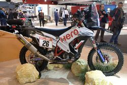 La moto del Hero MotoSports Team Rally
