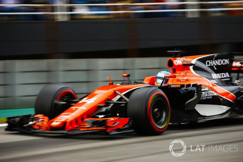 6: Fernando Alonso, McLaren MCL32