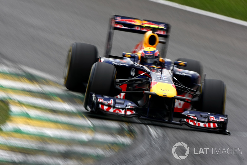 Ganador del GP de Brasil 2011: Mark Webber, Red Bull Racing RB7