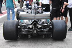 Mercedes-Benz F1 W08 rear