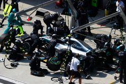 Пит-стоп: Валттери Боттас, Mercedes AMG F1 W09