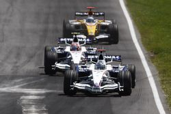 Ник Хайдфельд, BMW Sauber F1.08, Роберт Кубица, BMW Sauber F1.08, Фернандо Алонсо, Renault R28