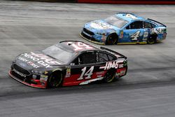 Clint Bowyer, Stewart-Haas Racing, Haas Automation Demo Day and Kevin Harvick, Stewart-Haas Racing, Ford Fusion Busch Beer
