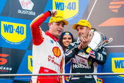 Podyum: Yarış galibi Scott McLaughlin, DJR Team Penske Ford
