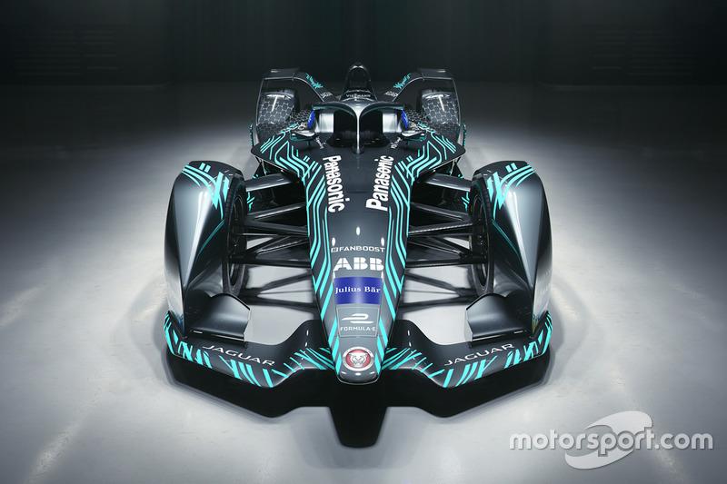 Машина Jaguar Racing для Формулы Е