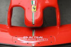 Detalle de nariz Ferrari SF71H