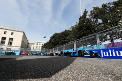 Nicolas Prost, Renault e.Dams, Maro Engel, Venturi Formula E Team, Tom Blomqvist, Andretti Formula E Team, Jérôme d'Ambrosio, Dragon Racing