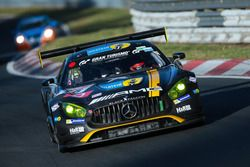 #15 AMG Team Black Falcon Mercedes-AMG GT3: Yelmer Buurman, Thomas Jäger, Jan Seyffarth, Luca Stolz