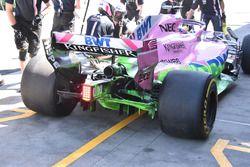 Force India VJM11 detalle trasero