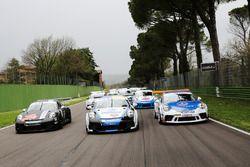 Gianmarco Quaresmini, Dinamic Motorsport, Tommaso Mosca, Tsunami RT, Sergio Campana, Ghinzani Arco Motorsport e il resto dei protagonisti della Carrera Cup 2023