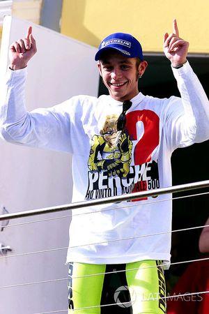 Valentino Rossi, Repsol Honda Team celebrates championship victory