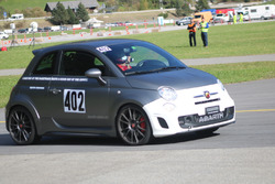 Janine Wyssen, Abarth 695 biposto, Team Rallye Top