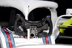Williams FW41, retro del volante
