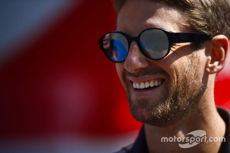 P4: Romain Grosjean, Haas F1