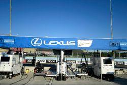 #14 3GT Racing Lexus RCF GT3, GTD: Dominik Baumann, Kyle Marcelli, #15 3GT Racing Lexus RCF GT3, GTD: Jack Hawksworth, David Heinemeier Hansson