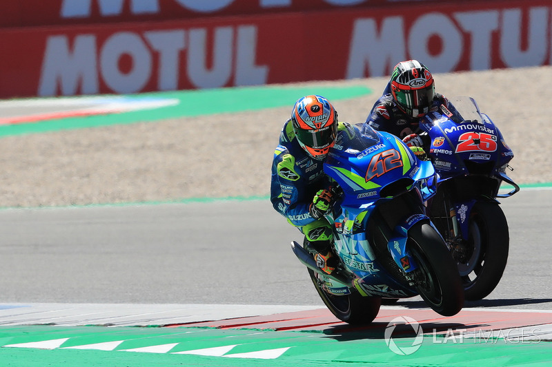 Alex Rins, Team Suzuki MotoGP, Maverick Viñales, Yamaha Factory Racing