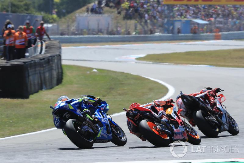 Jorge Lorenzo, Ducati Team, Marc Marquez, Repsol Honda Team, Alex Rins, Team Suzuki MotoGP