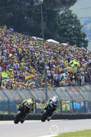 Valentino Rossi, Yamaha Factory Racing, Danilo Petrucci, Pramac Racing