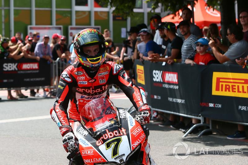 3e : Chaz Davies, Aruba.it Racing-Ducati SBK Team