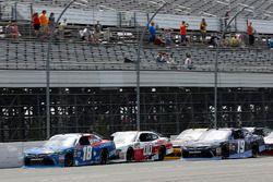 Kyle Busch, Joe Gibbs Racing, Toyota Camry Comcast Salute to Service Juniper Cole Custer, Stewart-Ha