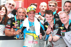 Third place Joan Mir, Marc VDS Moto2