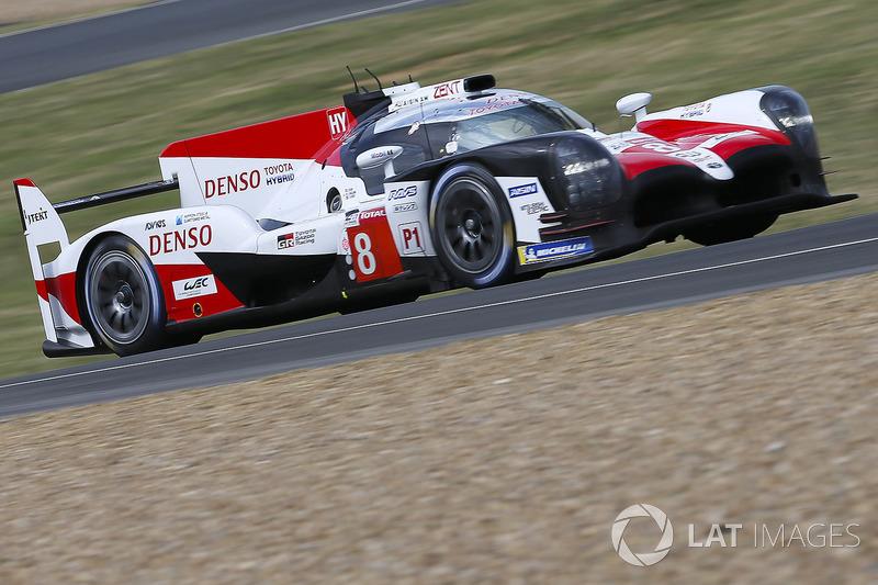 #8 Toyota Gazoo Racing Toyota TS050: Sebastien Buemi, Kazuki Nakajima, Fernando Alonso, Jose Maria Lopez, Anthony Davidson