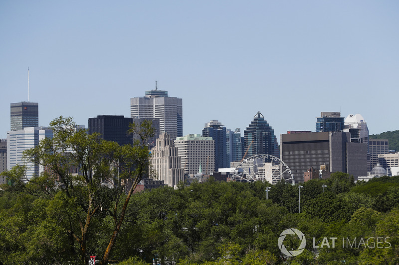 The Montreal skyline