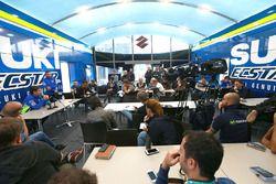 Conférence de presse de Davide Brivio, Suzuki MotoGP