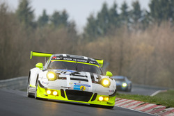 #911 Manthey Racing, Porsche 911 GT3 R: Michael Ammermüller, Kevin Estre