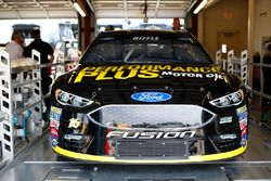 Car of Greg Biffle, Roush Fenway Racing Ford during inspection