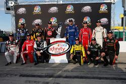 Chase contenders: Erik Jones, Joe Gibbs Racing Toyota, Elliott Sadler, JR Motorsports Chevrolet, Dan