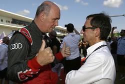 Dr. Wolfgang Ullrich, Jefe de Audi Sport, Pierre Fillon, ACO Presidente