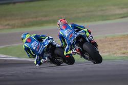 Maverick Viñales, Team Suzuki Ecstar MotoGP, Aleix Espargaró, Team Suzuki Ecstar MotoGP