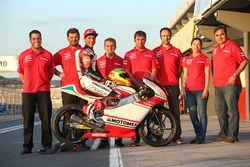 Gabriel Martínez-Abrego, Motomex Team Worldwide Race con el equipo