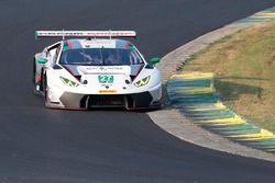 #27 Dream Racing, Lamborghini Huracan GT3: Lawrence DeGeorge, Cedric Sbirrazzuoli