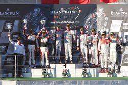 Podium: les vainqueurs #33 Belgian Audi Club Team WRT Audi R8 LMS: Enzo Ide, Christopher Mies, les deuxièmes #88 AKKA ASP Mercedes AMG GT3: Tristan Vautier, Felix Rosenqvist, les troisièmes #1 Belgian Audi Club Team WRT Audi R8 LMS: Frederic Vervisch, Laurens Vanthoor