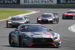 #84 AMG Team HTP Motorsport Mercedes AMG GT3: Dominik Baumann, Maximilian Bühk