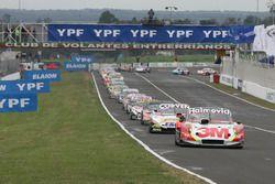 Mariano Werner, Werner Competicion Ford, 12\, Facundo Ardusso, JP Racing Dodge, Mauricio Lambiris, C
