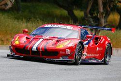 #68 Scuderia Corsa Ferrari 488 GTE : Alessandro Pier Guidi, Daniel Serra