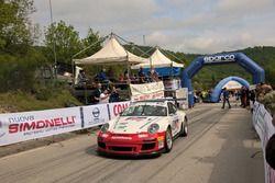 Partenza: Guido Sgheri, Porsche GT #49, Pistoia Corse Sport
