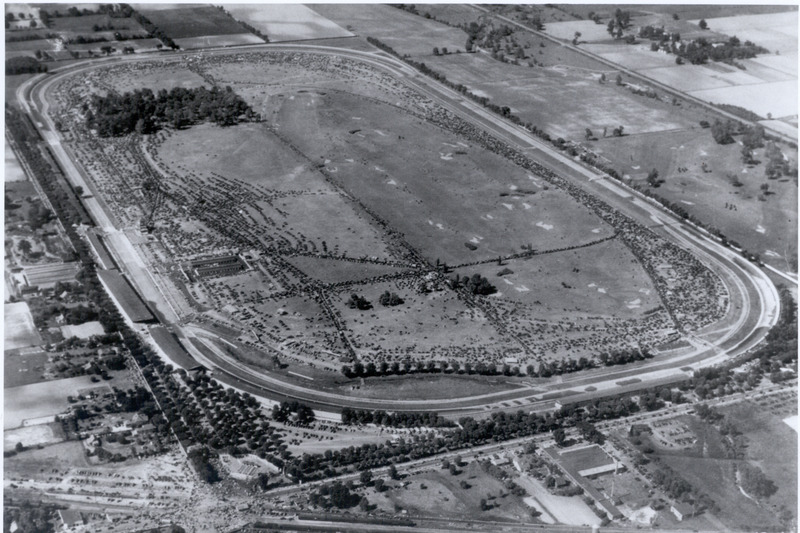 Aerial Indianapolis Motor Speedway